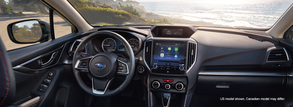 2018 Subaru Crosstrek - The reengineered and redesigned Interior